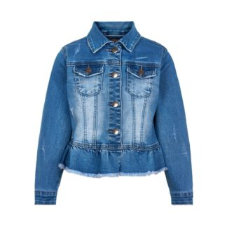 Creamie Jakke - Denim - Light Blue Denim