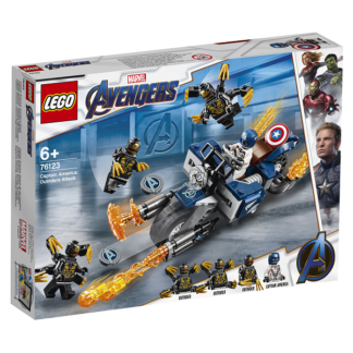 Captain America: Outrider-angreb - 76123 - LEGO Super Heroes