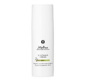 Mellisa D-vitamin creme med UV-filter- 50 ml.